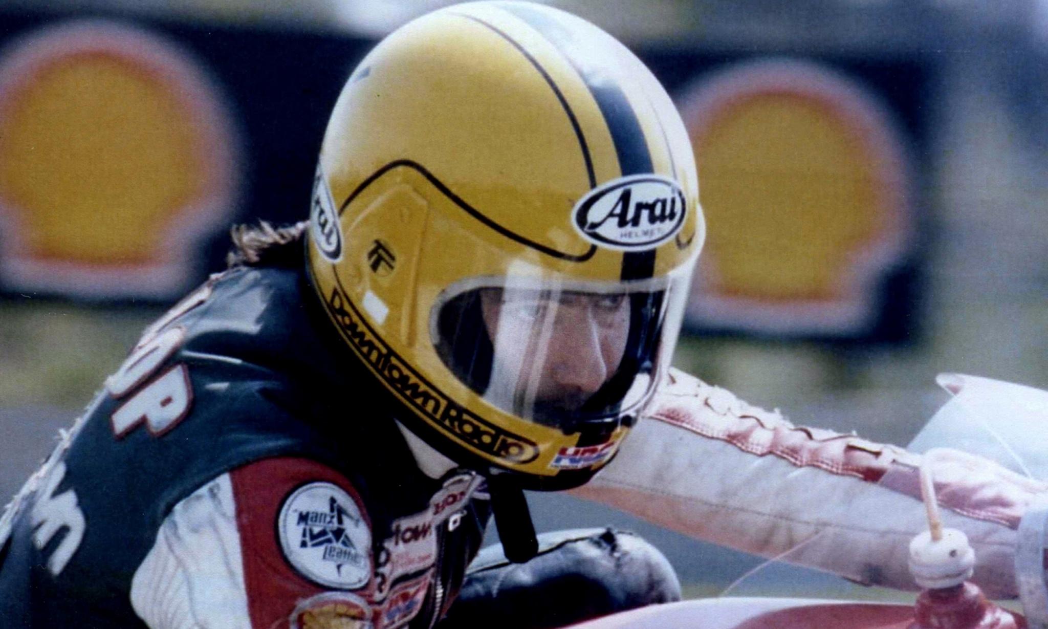 ... Helmet Joey Dunlop ...