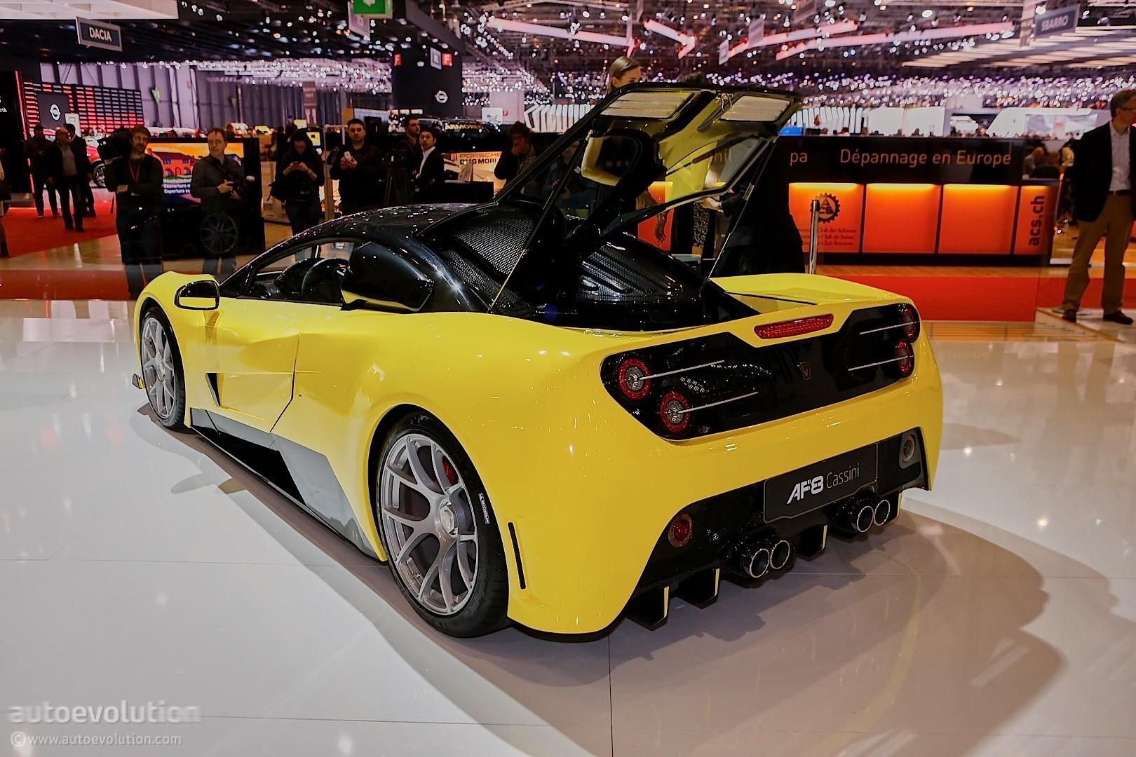 Arash Af10 Steals Bugatti Chiron S Show In Geneva With