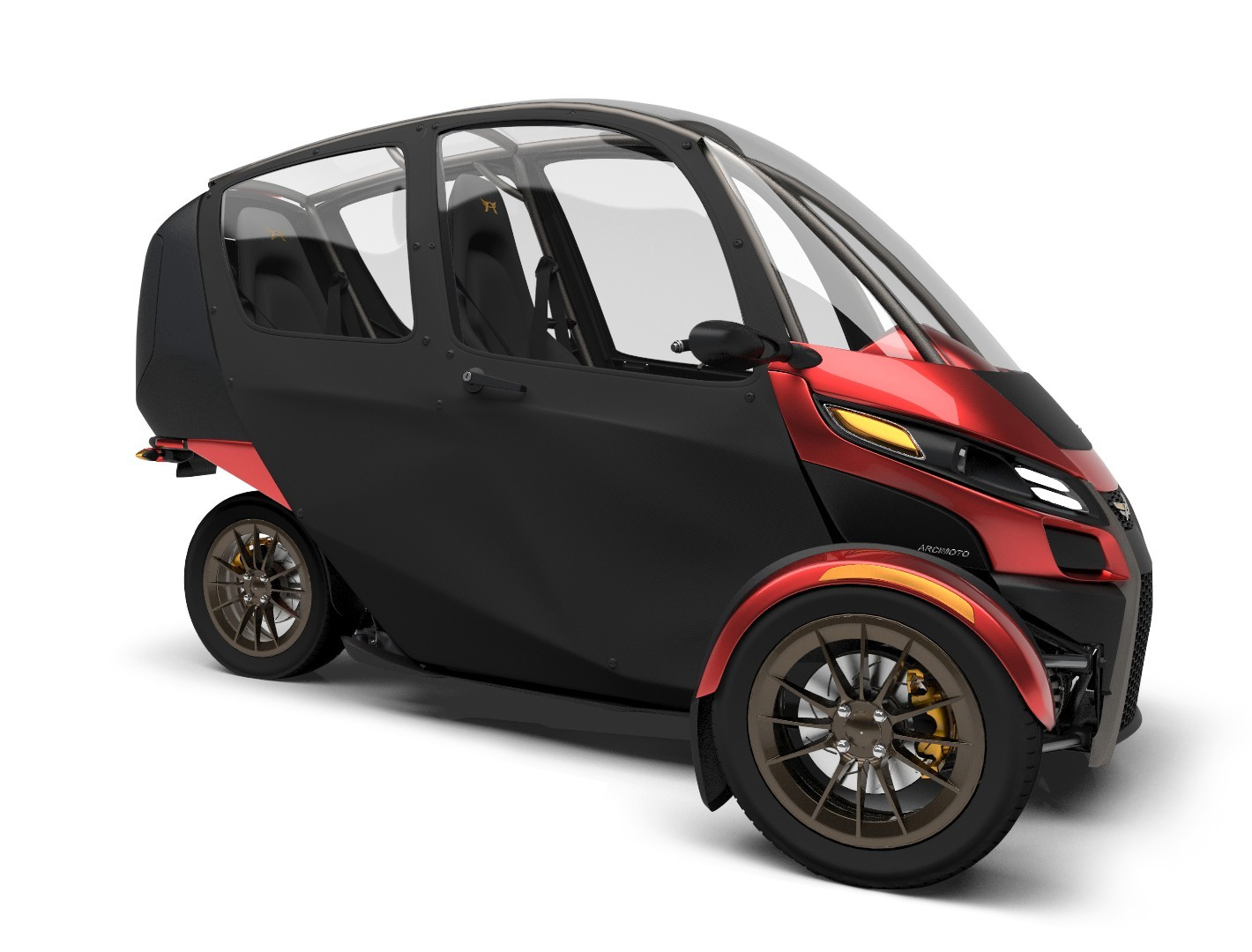 Arcimoto Srk Electric Three Wheeler Hails The Future Of