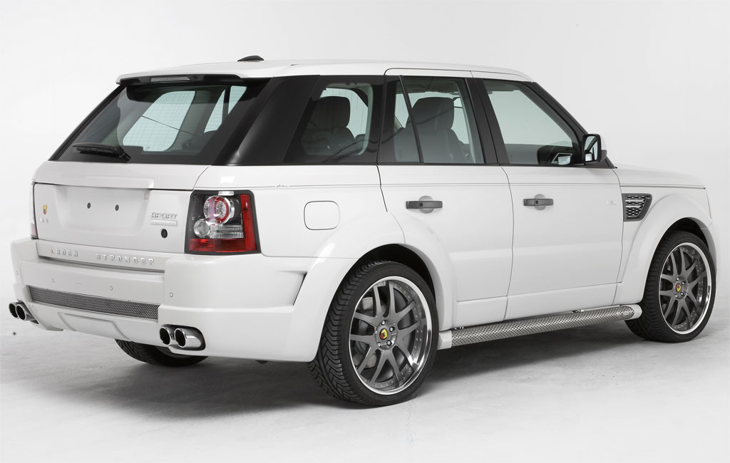 Arden Reveals Ar6 Stronger Range Rover Sport Autoevolution