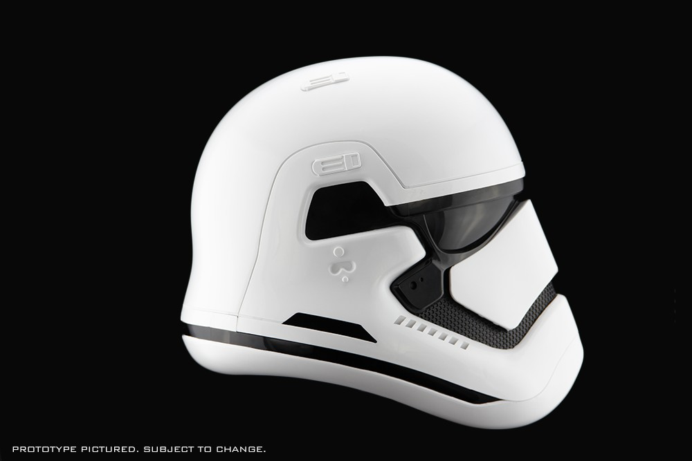 Are You Wearing The First Order Stormtrooper Helmet For