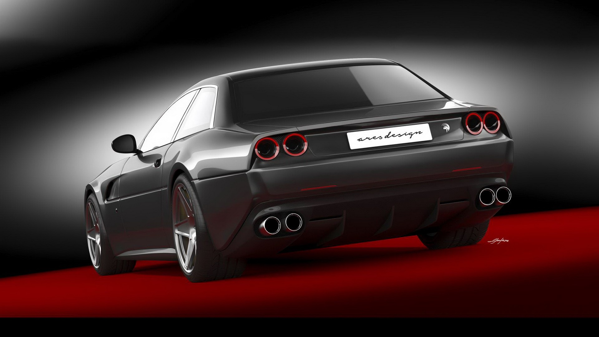 Ares Design Project Pony Is A Ferrari Gtc4lusso With 412