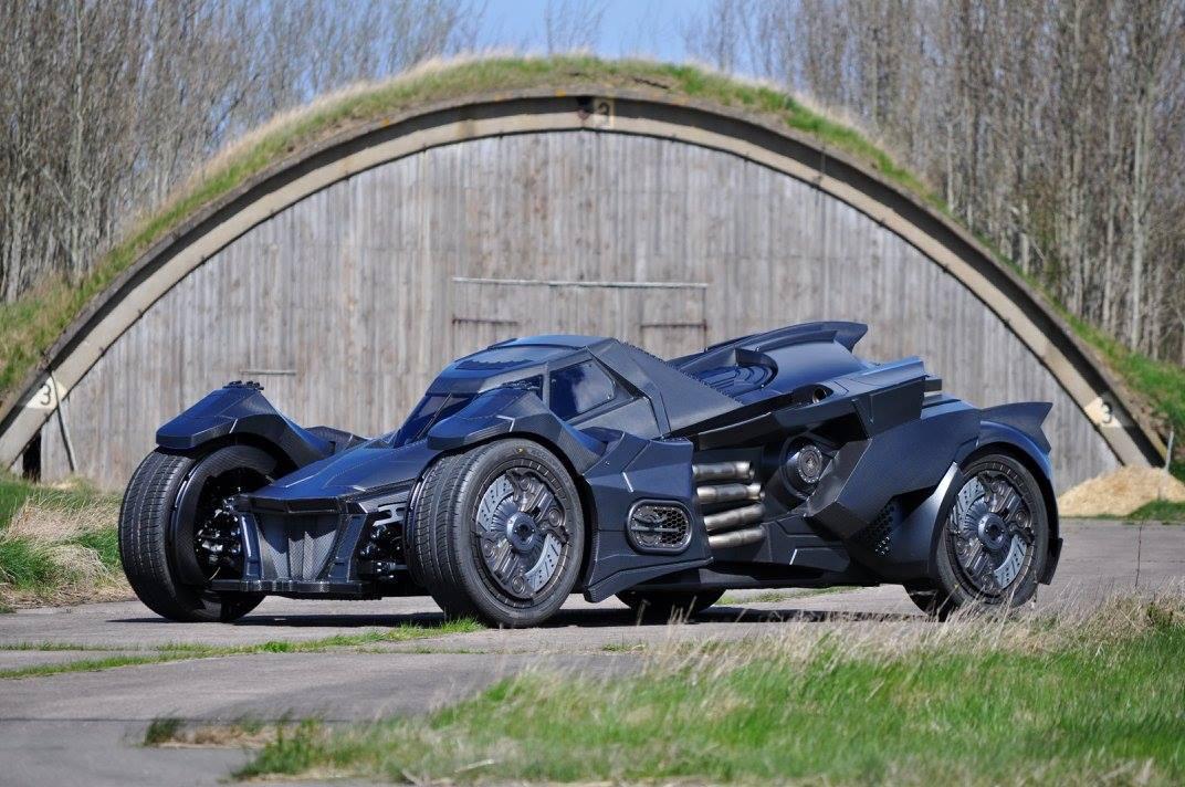 Arkham Knight Batmobile With Lambo V10 Races At 2016 Gumball 3000