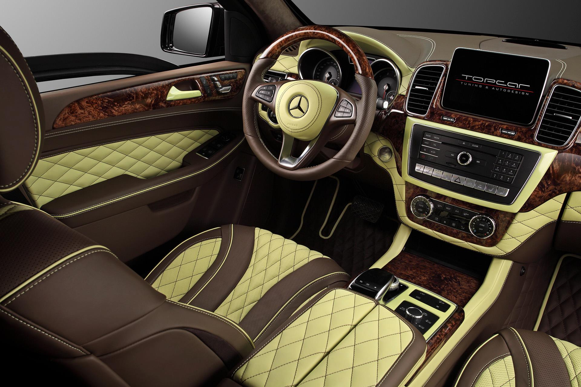 Armored mercedes gle gets topcar inferno custom interior
