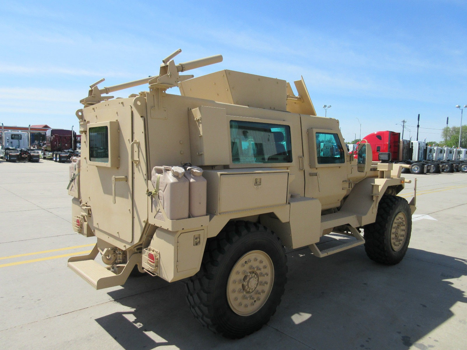 Armored Military Vehicle Used In Iron Man 3 Is On Ebay Autoevolution