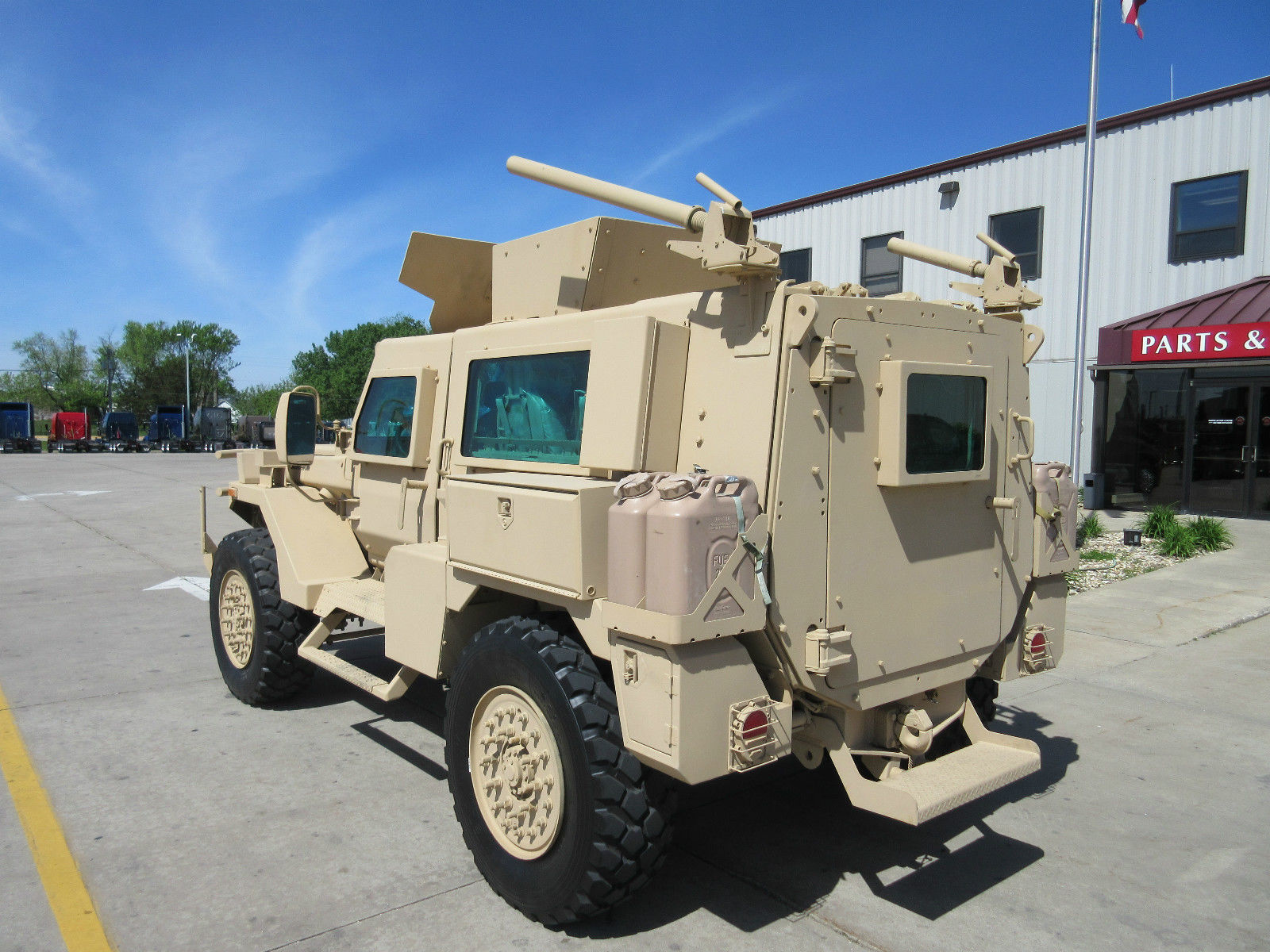 Armored Military Vehicle Used in Iron Man 3 Is on eBay ...