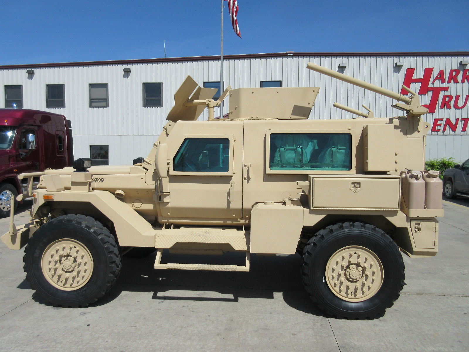 Used Military Vehicles >> Armored Military Vehicle Used In Iron Man 3 Is On Ebay Autoevolution