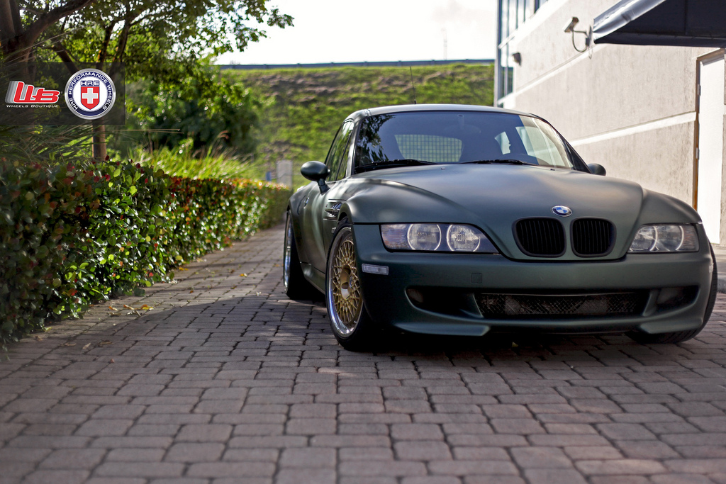 Army Green Bmw Z3 M Is Deadly Fast Autoevolution