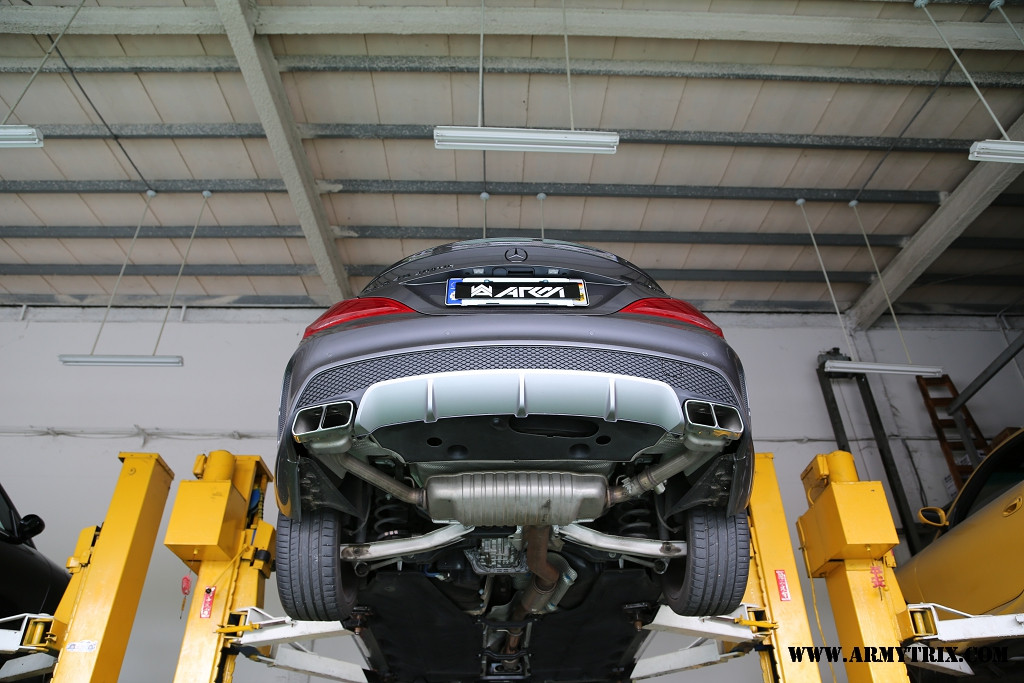 Armytrix Valvetronic Exhaust For Mercedes Cla 45 Amg: Cla Amg Exhaust At Woreks.co