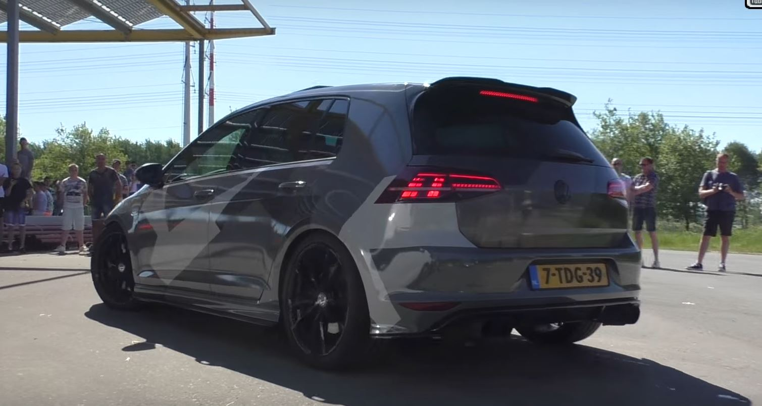 Armytrix Golf 7 R Exhaust Is Deafeningly Loud Autoevolution