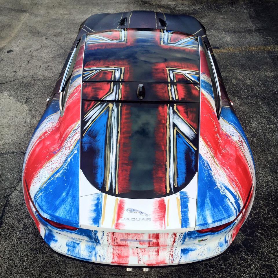 """Used Jaguar F Type: Artist Creates Jaguar F-Type """"Shaguar"""" That Changes Color"""