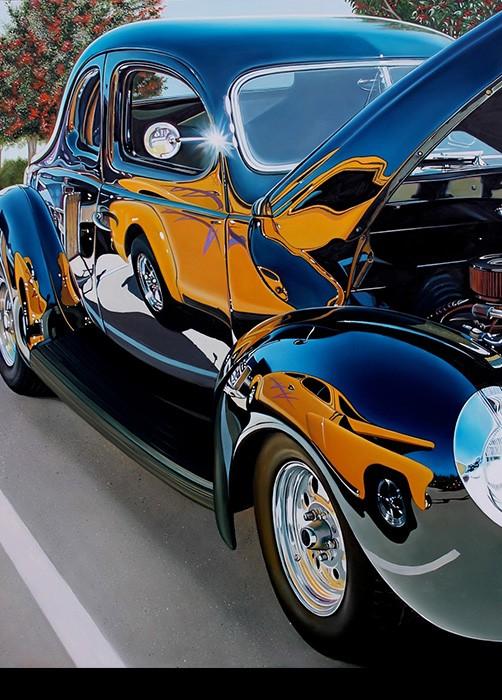 Artist Paints Stunning Muscle Car Renderings Captures
