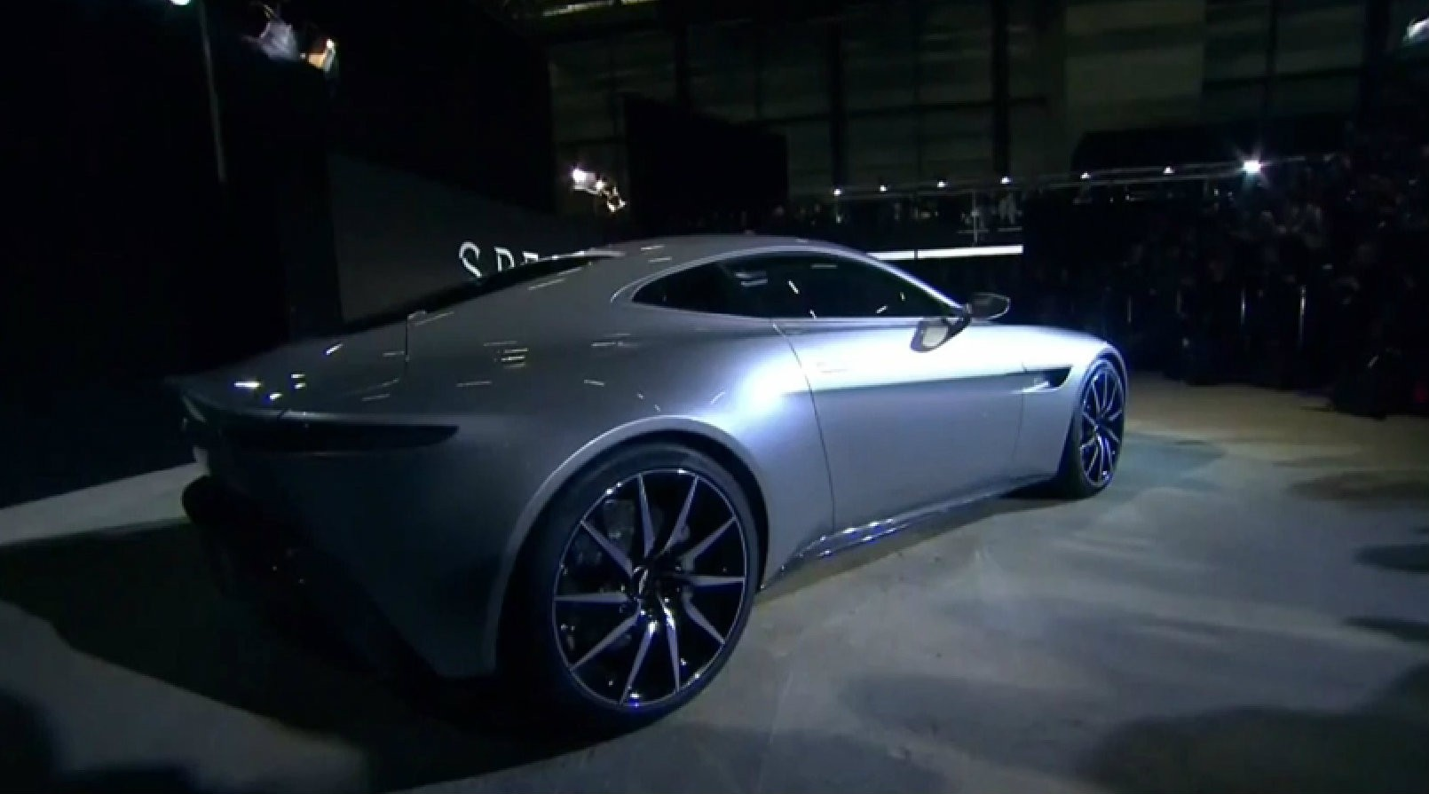Aston Martin Db Unveiled Its The Star Of James Bond Spectre Video Photo Gallery