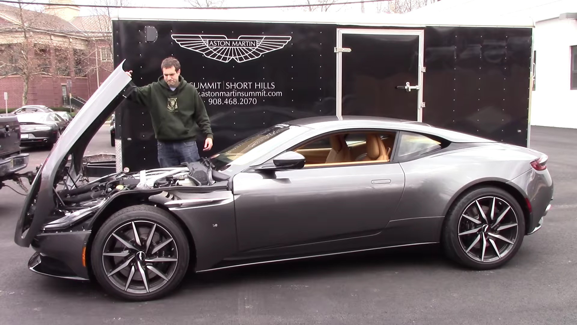 aston martin db11 quirks include underbonnet jewellery pack and soft