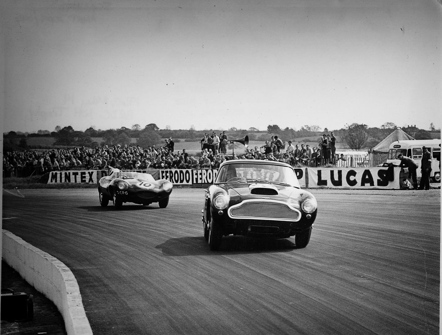 All Types aston db4 zagato : Aston Martin DB4 GT Continuation Put To The Test At Millbrook ...