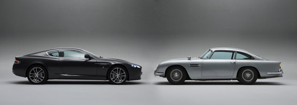... Aston Martin DB5 Bond Car And 2011 DB9 ...