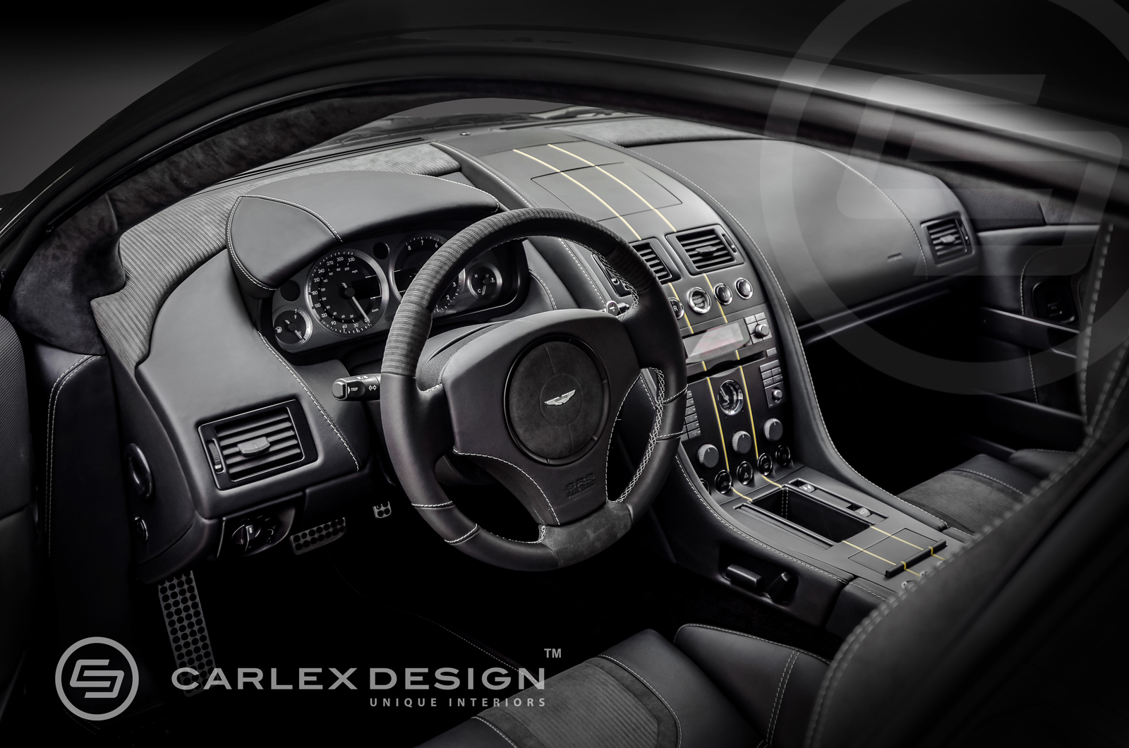 Aston Martin Db9 Custom Interior Is Worthy Of James Bond