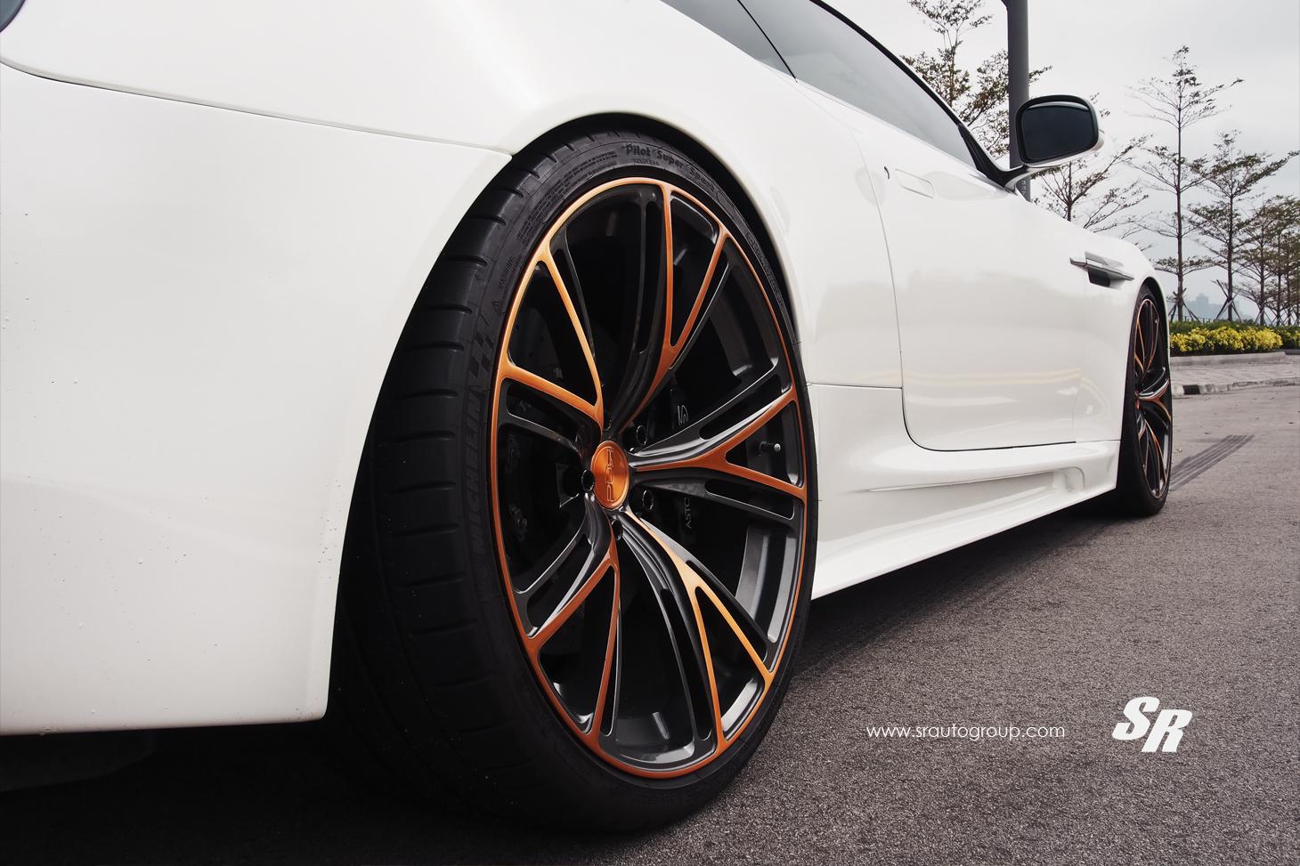 Aston Martin Dbs On Rose Gold Wheels Transformers 4 Eye