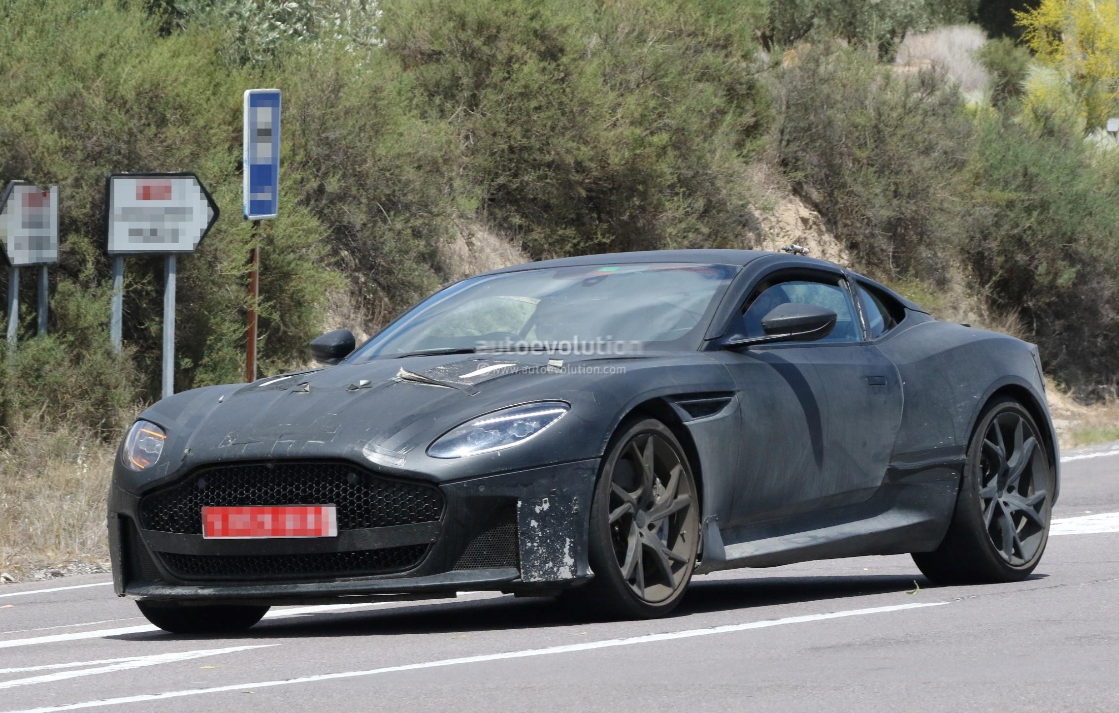 Aston Martin Dbs Superleggera Spies