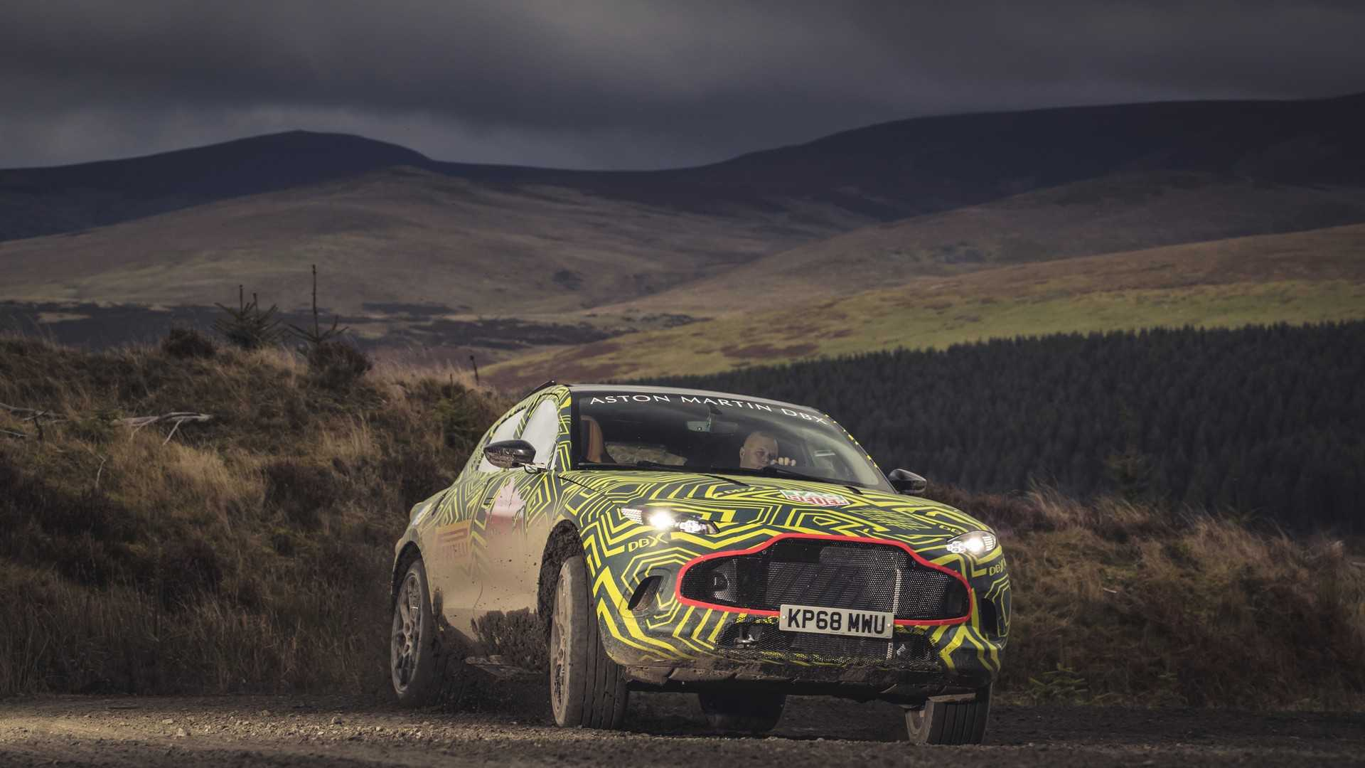 Aston Martin reveals DBX prototype as testing gets underway