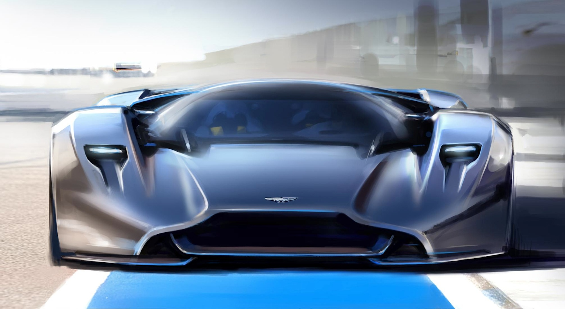 Aston Martin DP-100 Concept Looks Like a British Pagani ...