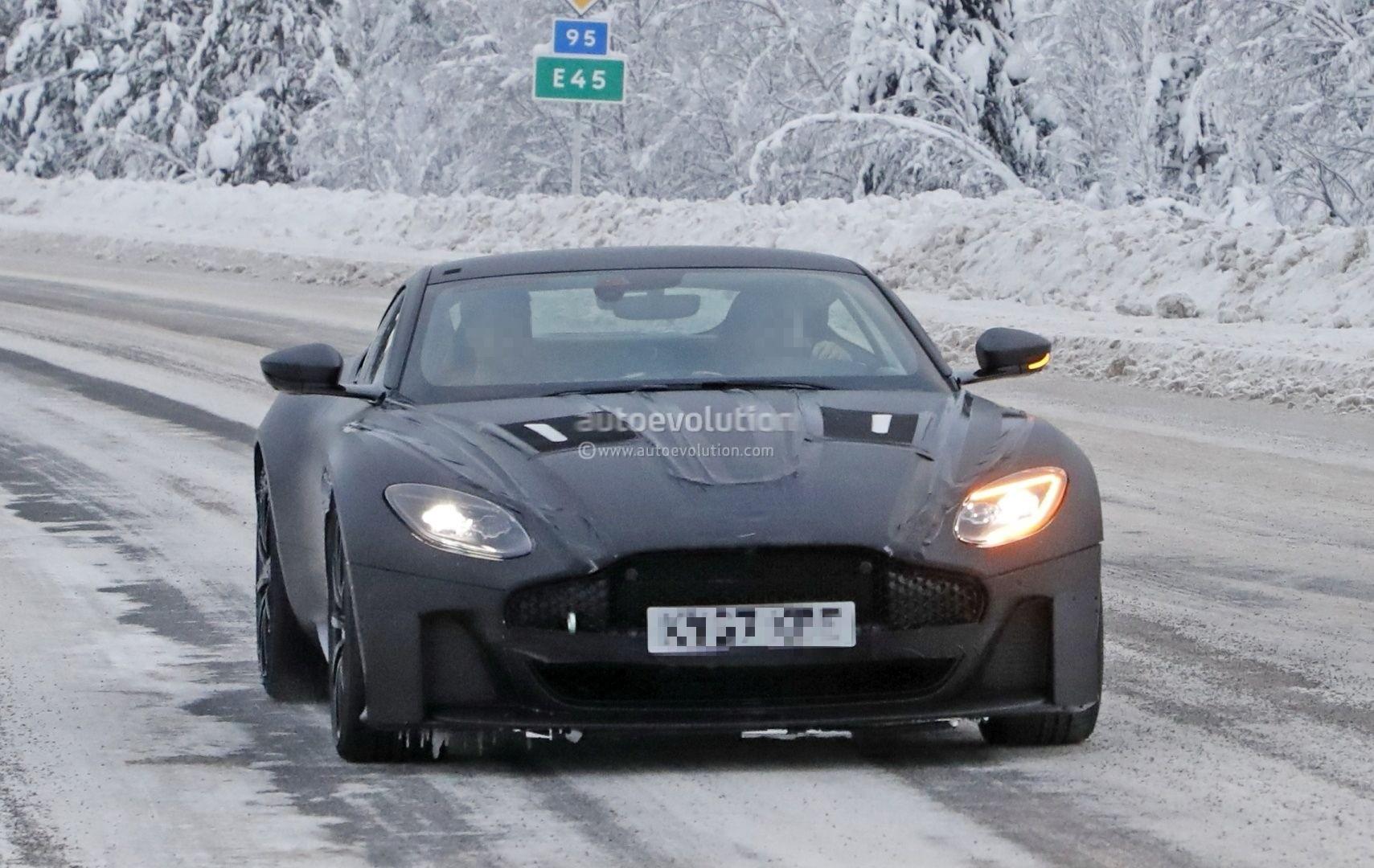 2019 Aston Martin Vanquish Spied ...