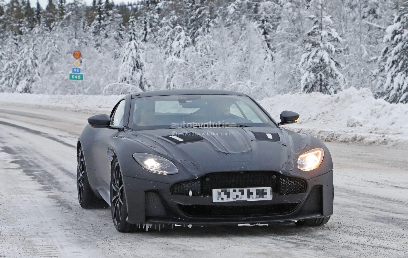 2019 Aston Martin Vanquish Spied 2019 Aston Martin Vanquish Spied ...