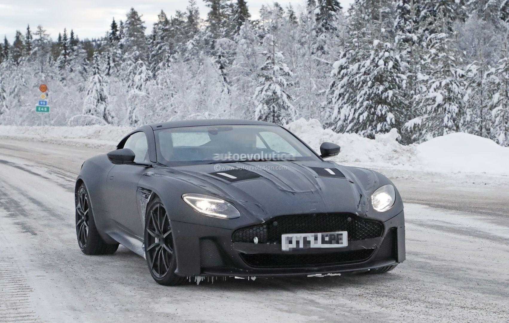 ... 2019 Aston Martin Vanquish Spied ...