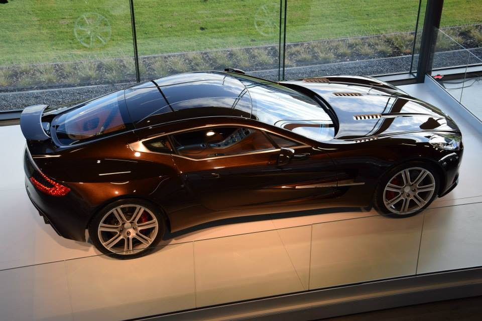 Aston Martin One 77 Shows Up In Belgian Dealership Is It