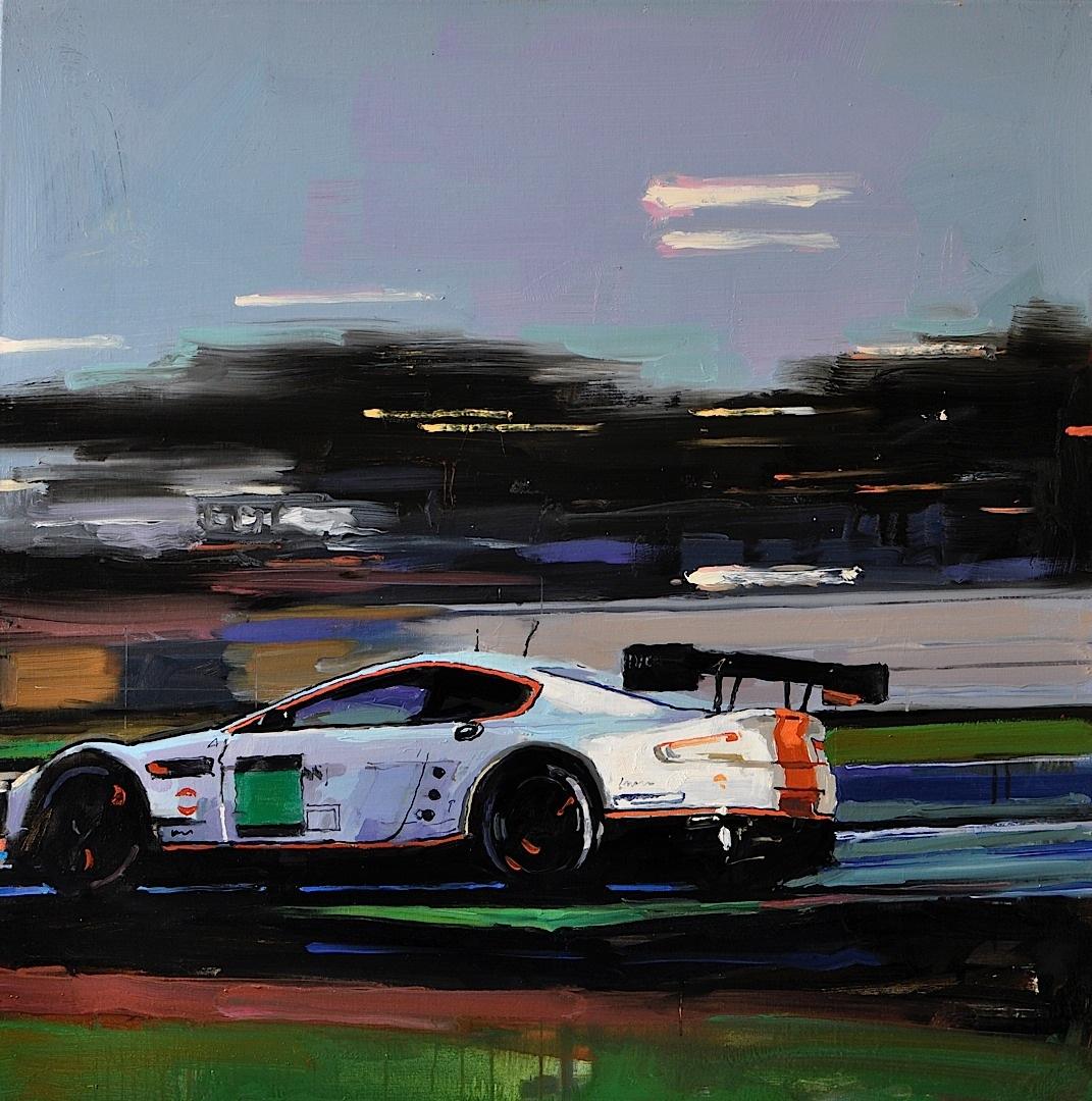 Aston Martin Paintings Here For Centenary Celebration