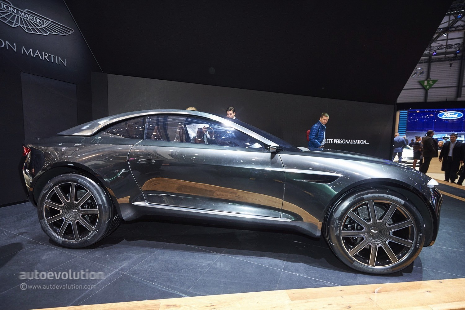 Aston Martin Picked Geneva To Launch Its Electric Dbx