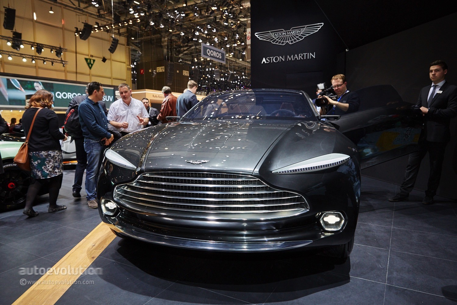Aston Martin Picked Geneva To Launch Its Electric Dbx Concept Live Photos