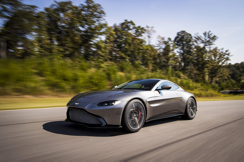 Aston Martin Previews New V8 Vantage Roadster Matte Paint Looks
