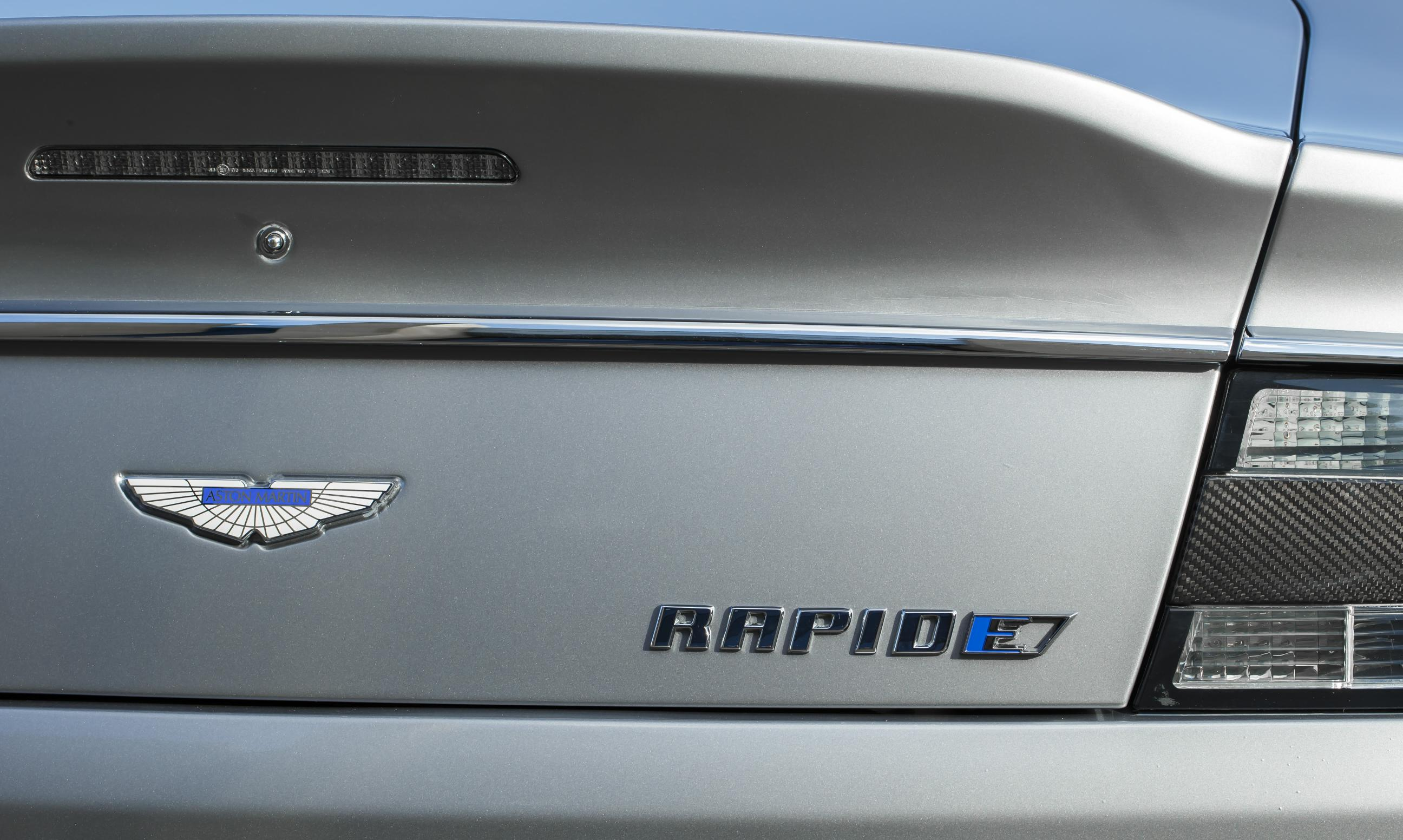 Aston Martin Reveals Rapide Concept An All Electric Sedan