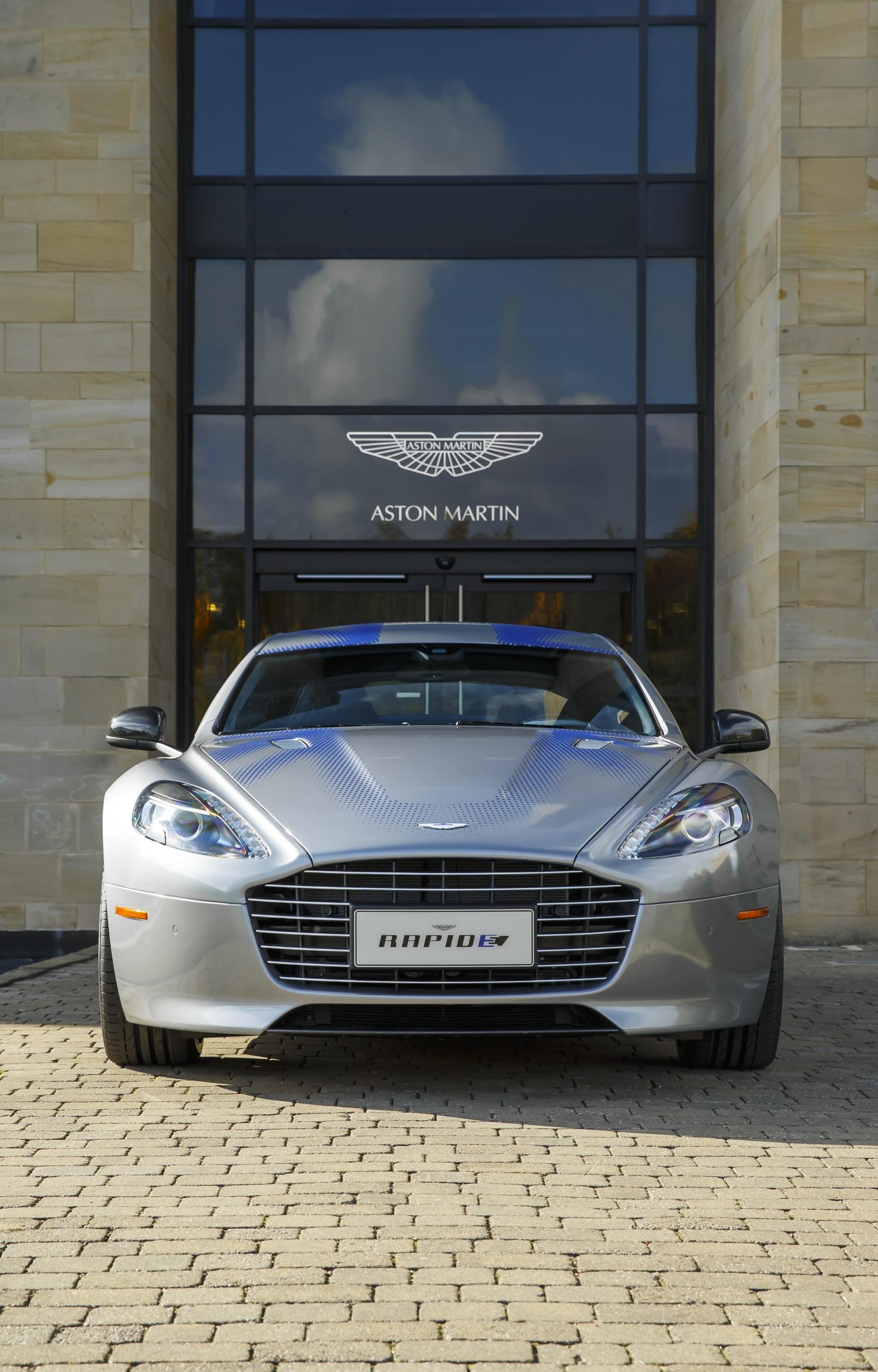 Aston Martin Reveals Rapide Concept An All Electric Sedan