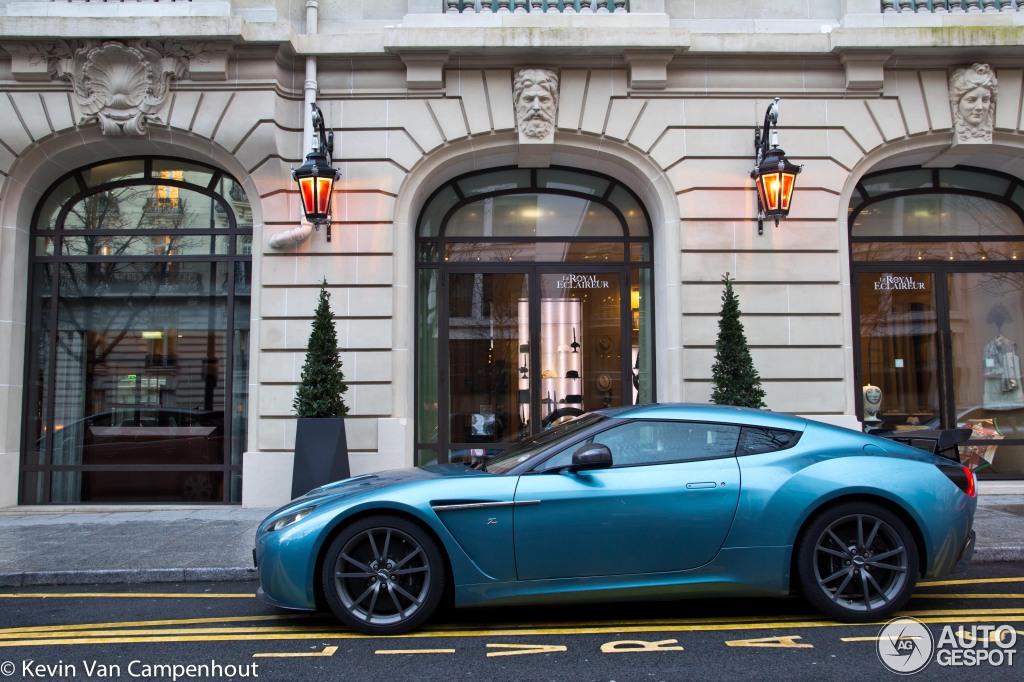 Aston Martin V Zagato Racer Rendered To Elegant Perfection - Aston martin v12 zagato