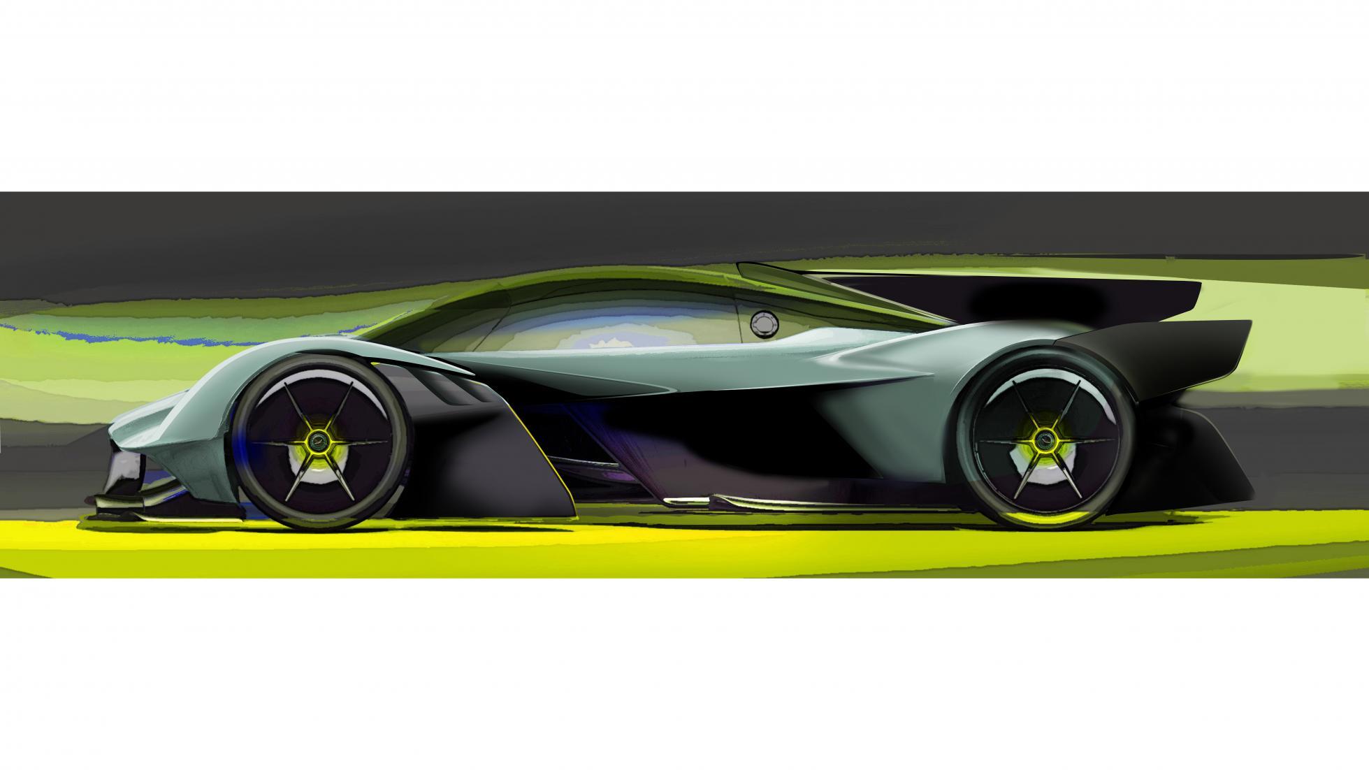 Aston Martin Valkyrie ...V12 Vanquish 2017