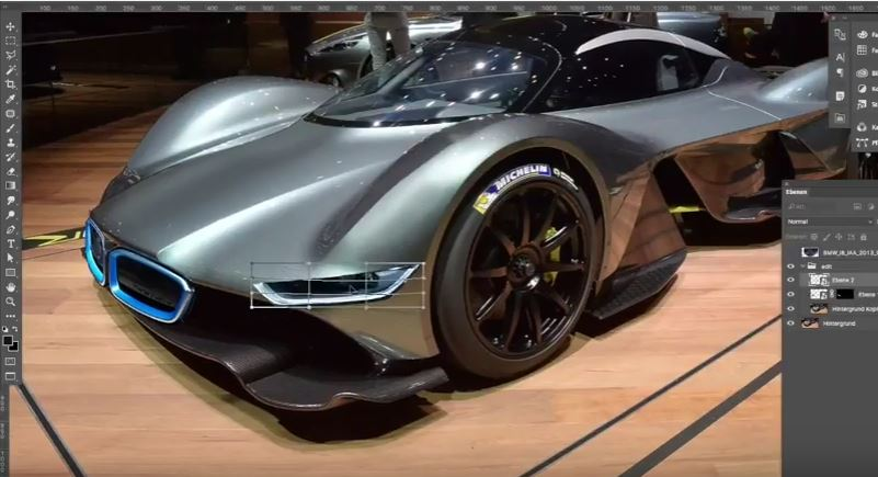 Aston Martin Valkyrie Gets Bmw I8 Face In This Absurdly