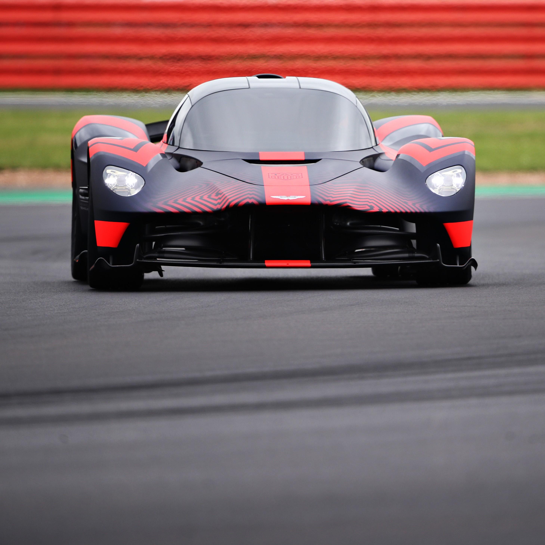Aston Martin Valkyrie Laps Silverstone For First Public Demo
