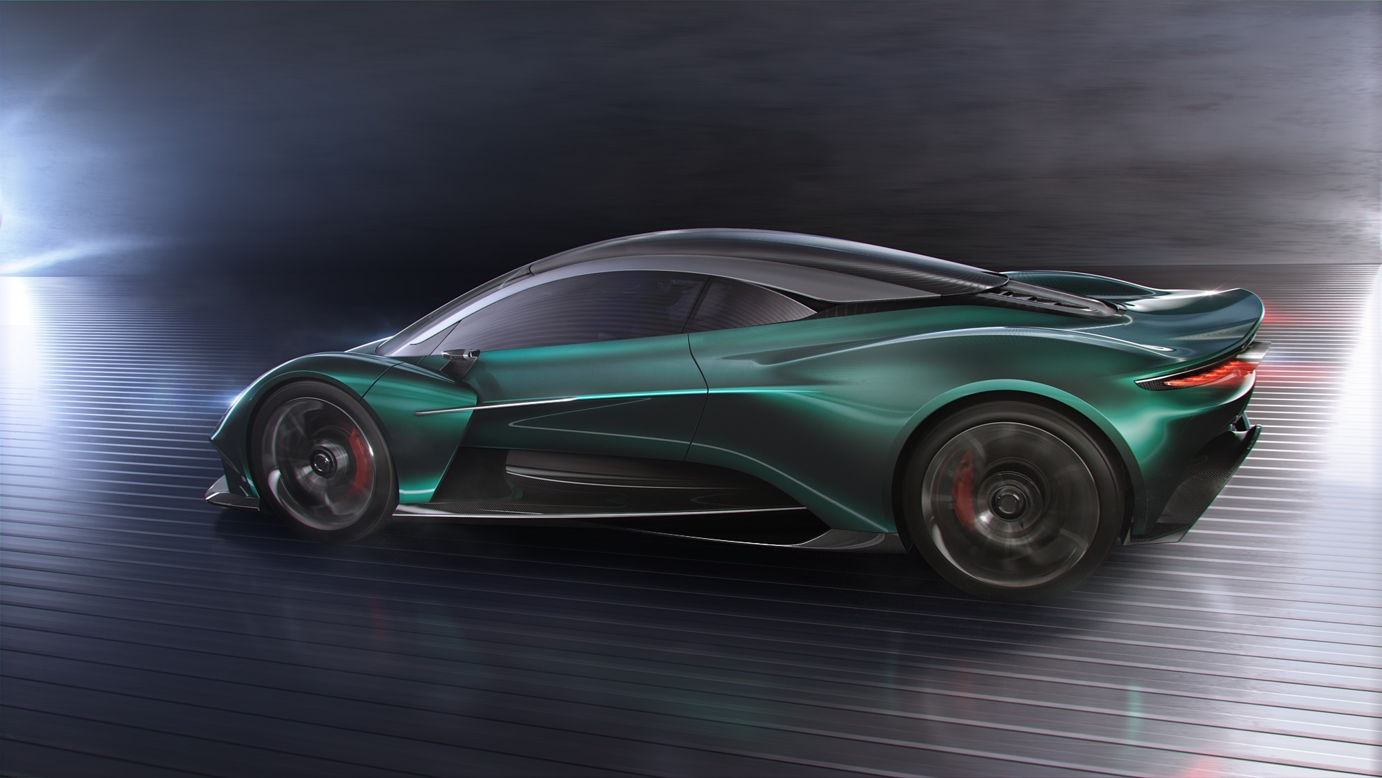 Aston Martin Vanquish Mid Engine Supercar