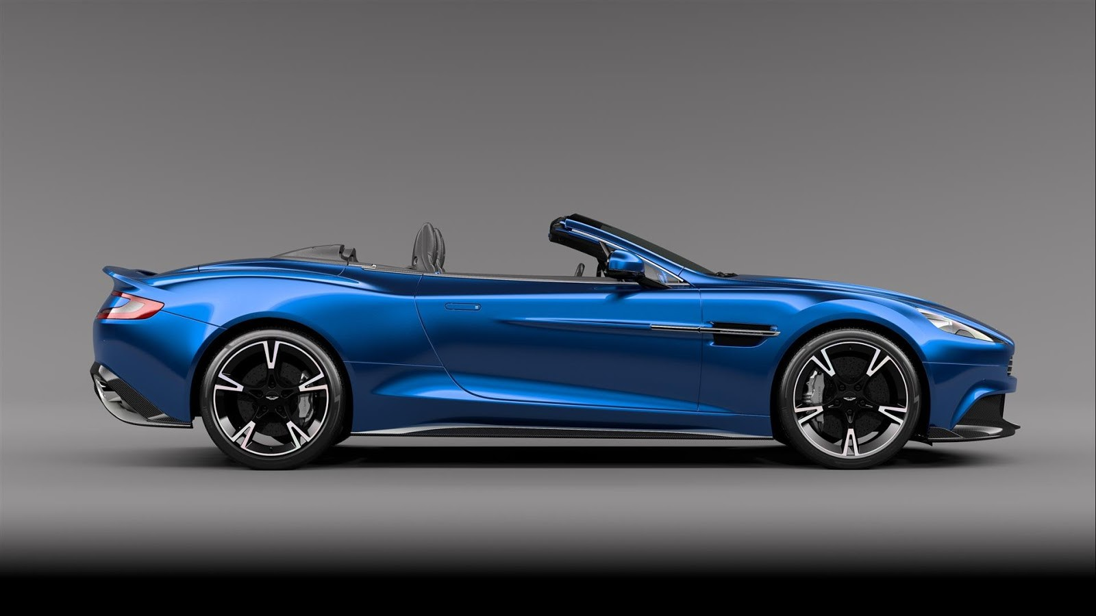 2017 aston martin vanquish s volante gets updated 600 hp v12. Black Bedroom Furniture Sets. Home Design Ideas