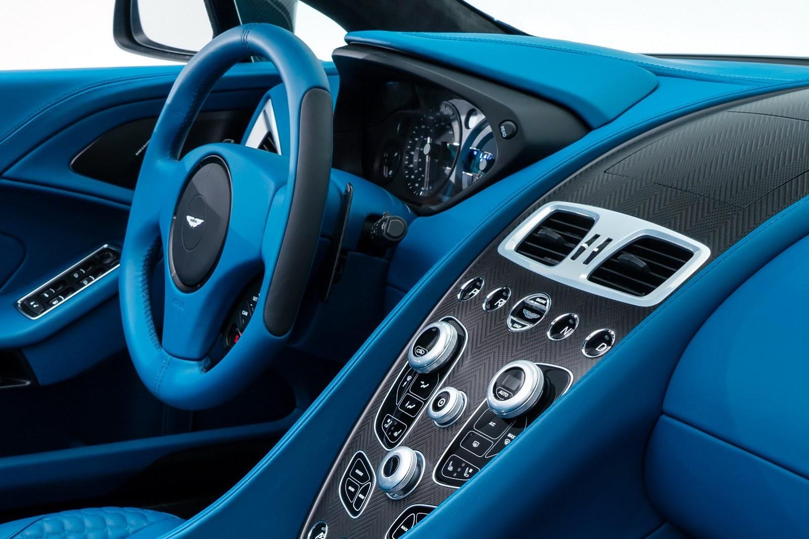 Aston Martin Vanquish Volante Unveiled Autoevolution