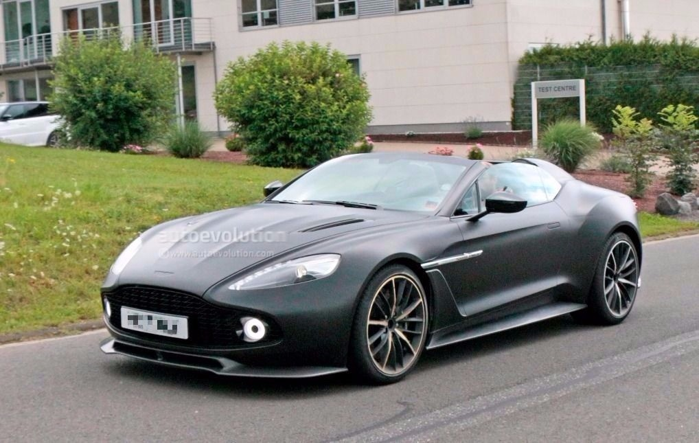 Spyshots Aston Martin Vanquish Zagato Speedster And Volante At The