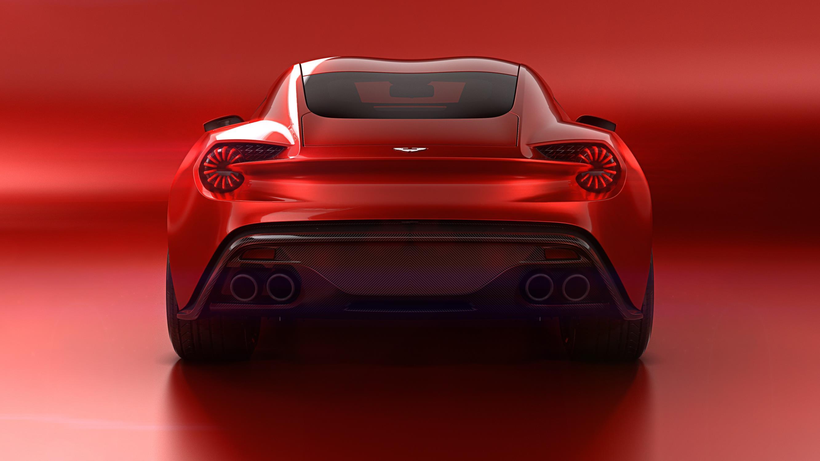 Aston Martin Vanquish Zagato Speedster Rendered As The Rumored