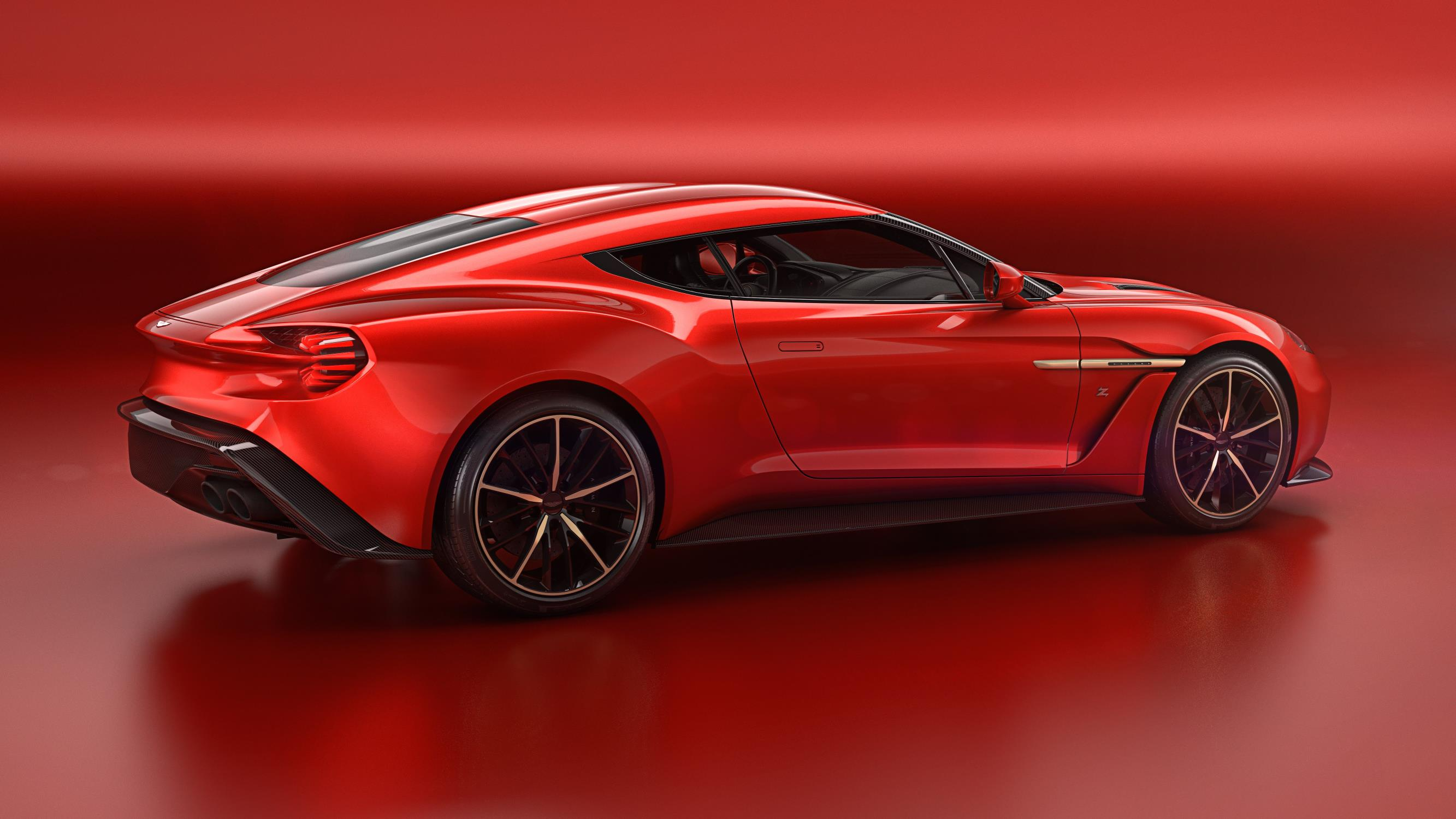 Aston Martin Vanquish Zagato Speedster Rendered As The