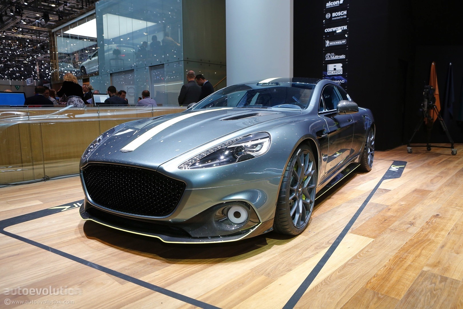 Aston Martin Vantage AMR Pro Is a Customer Racecar with an ...