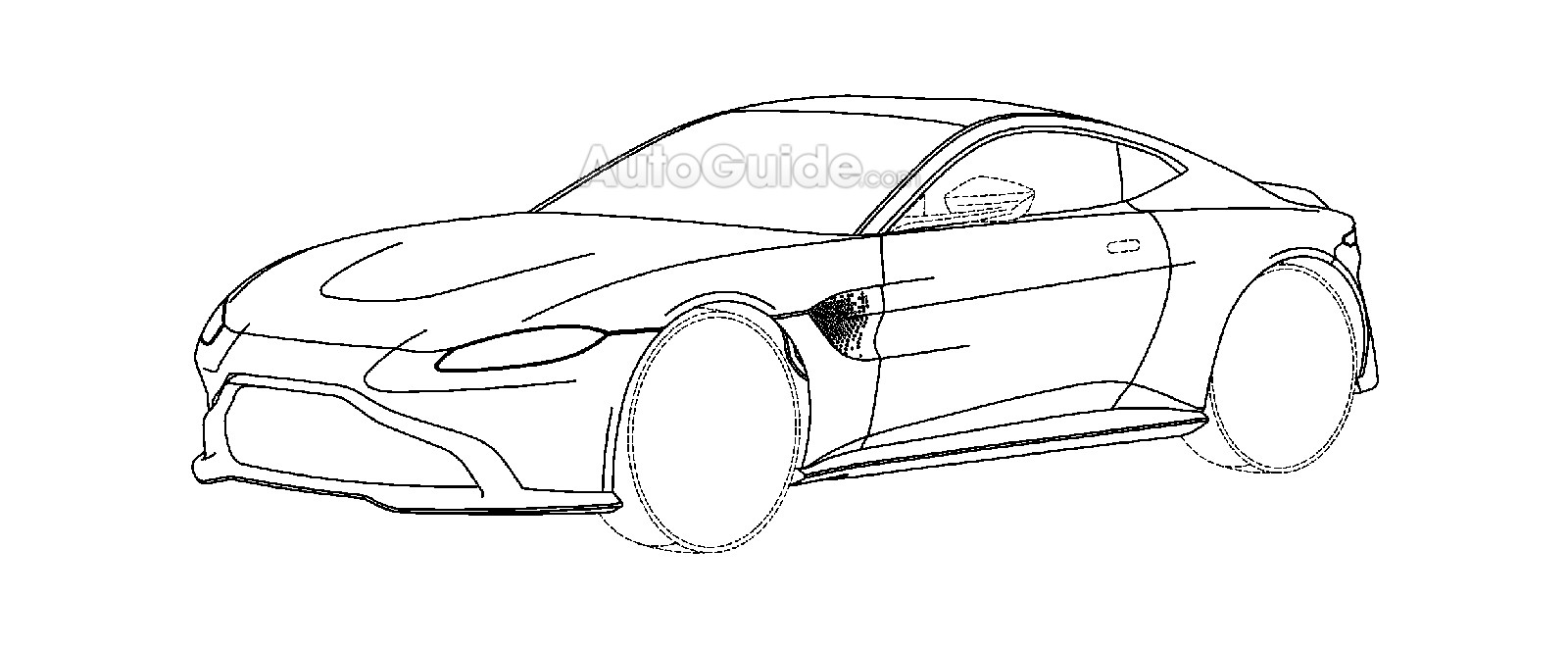 Patent Drawings Reveal Possible Design Of 2018 Aston