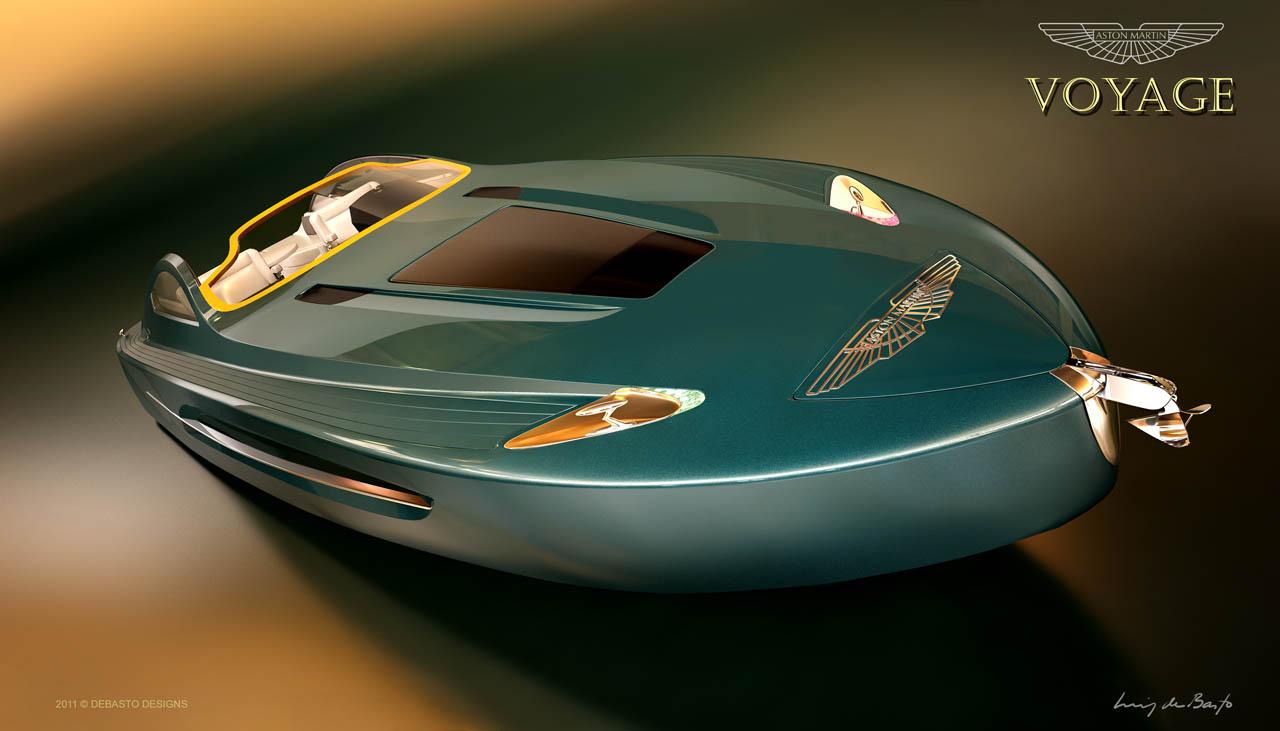 Aston Martin Voyage 55 Boat Concept Revealed Autoevolution