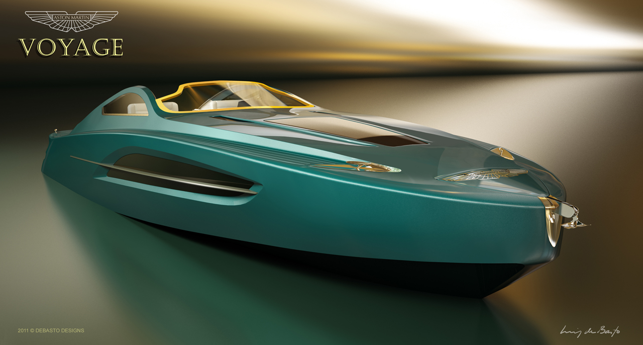 Aston Martin Voyage Boat Concept Revealed Photo Gallery