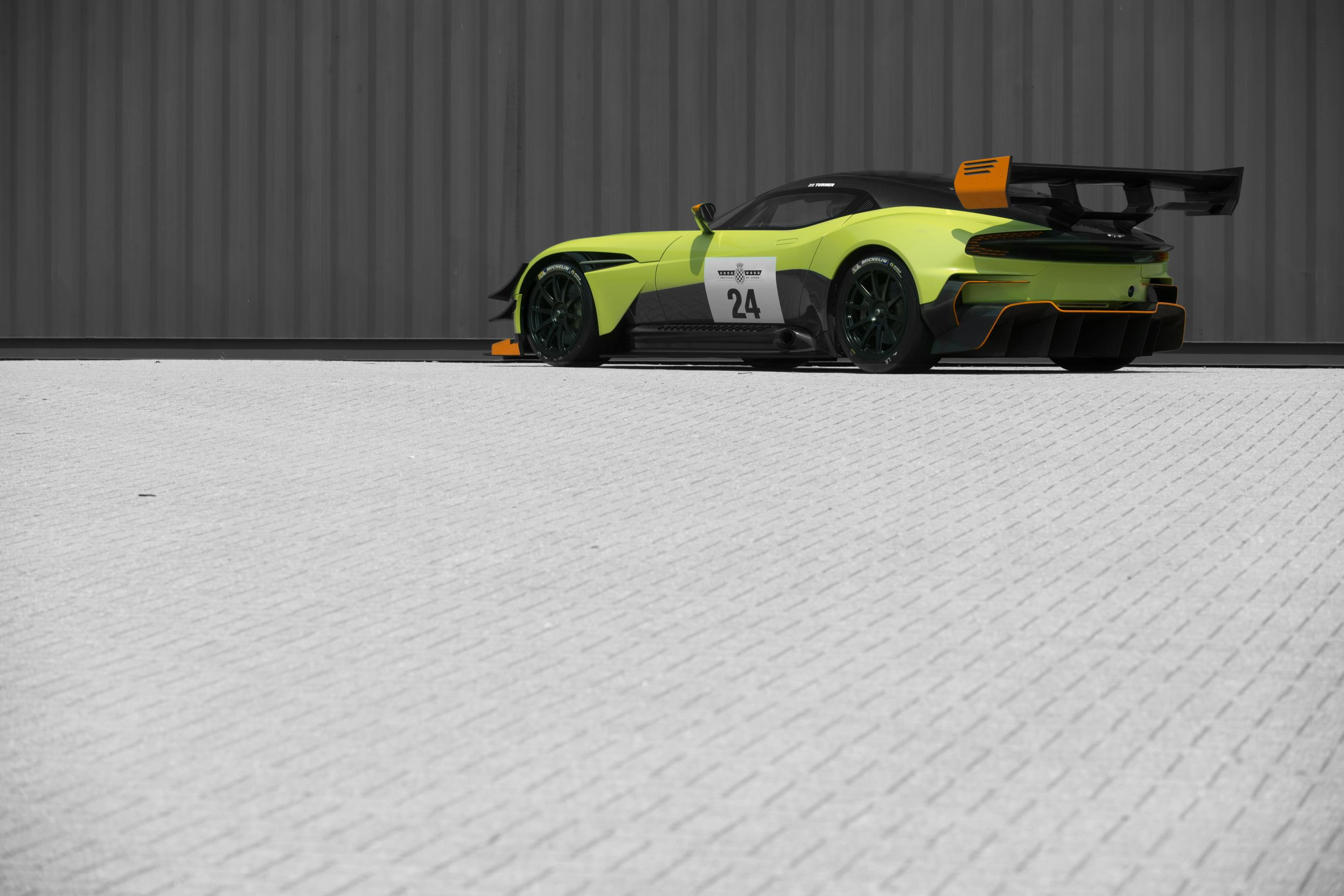 Watch The World S First And Only Road Legal Aston Martin Vulcan